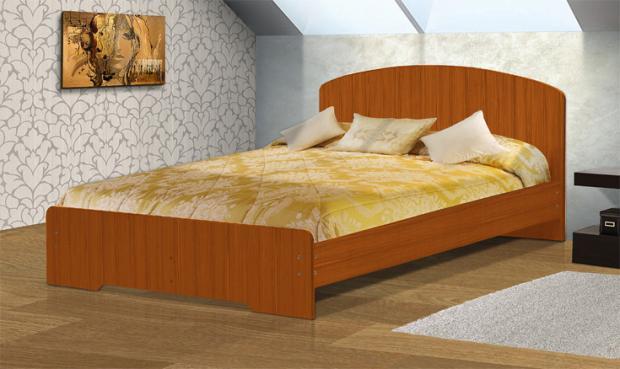 Кровать полутораспальная с низкой ножной спинкой 1400 Людмила-2 - фото №2