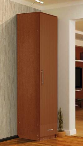Шкаф - пенал с нижним ящиком - фото №2