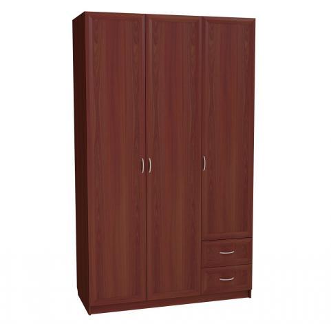 Шкаф 3-х дверный с 2-мя ящиками с 285 М - фото №1