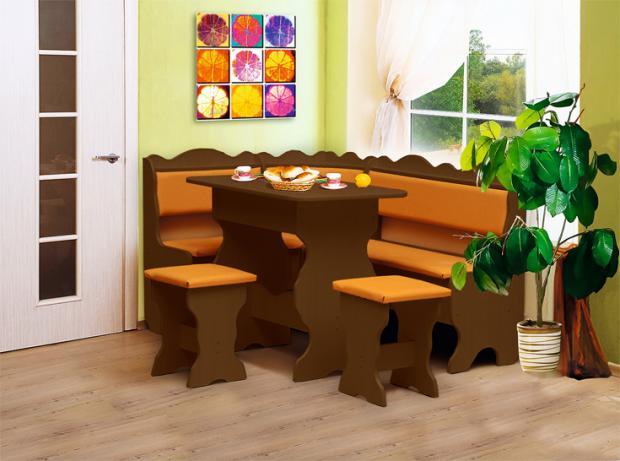 Кухонный угловой набор Уют-1 - фото №4