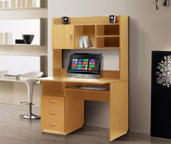 Стол компьютерный с надстройкой – 1 - фото №5