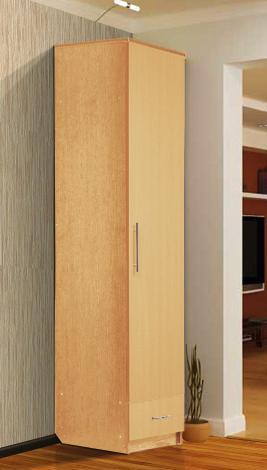 Шкаф - пенал с нижним ящиком - фото №7