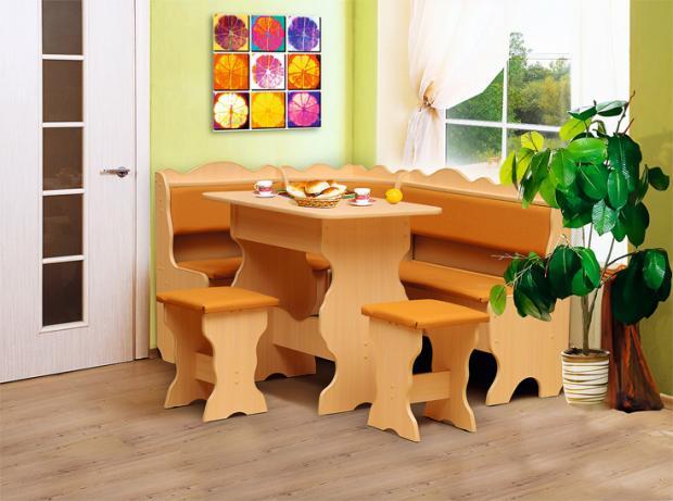 Кухонный угловой набор Уют-1 - фото №1