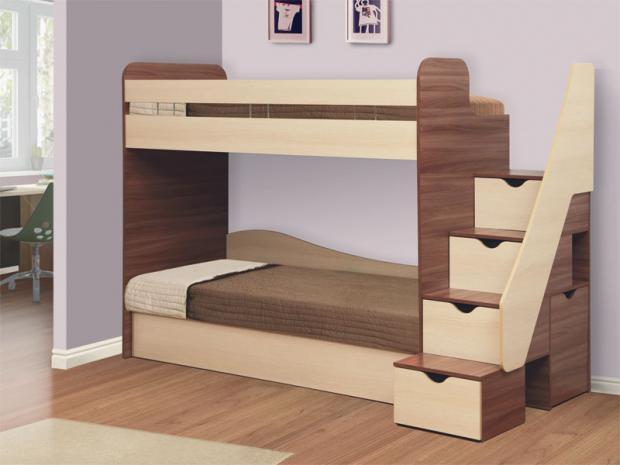 Кровать детская двухъярусная «Адель-3» - фото №1