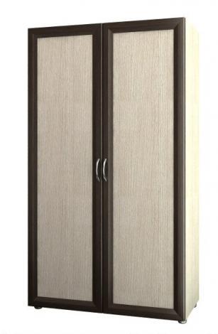Распашной шкаф для офиса 2 дверный 4.11Ф - фото №1