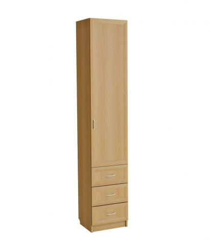 Шкаф-пенал с тремя ящиками С 413 МГ - фото №4
