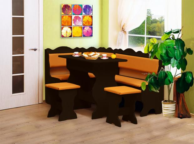 Кухонный угловой набор Уют-1 - фото №3