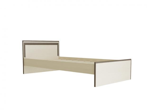 Кровать односпальная 900 с низкой ножной спинкой С436Т - фото №3