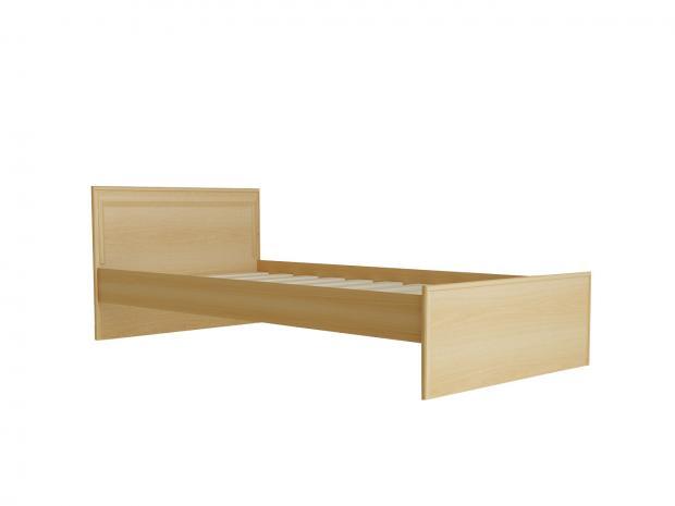 Кровать с низкой ножной спинкой 900 С 436 Т - фото №5