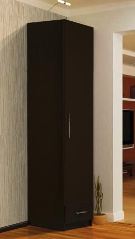 Шкаф - пенал с нижним ящиком - фото №3