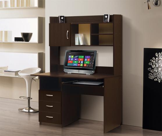 Стол компьютерный с надстройкой – 1 - фото №7
