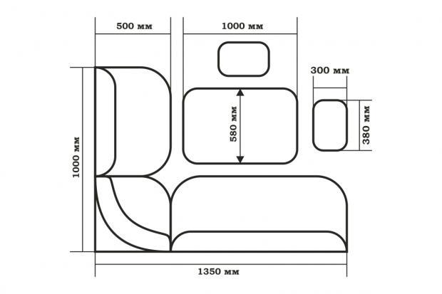 Набор мебели для кухни Тюльпан - фото №19