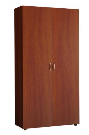 Шкаф офисный для одежды узкий с выдвижной штангой 5.10Ф - фото №2