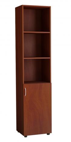 Шкаф для офиса однодверный с нишами 5.05Ф - фото №3