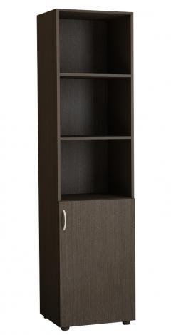 Шкаф для офиса однодверный с нишами 5.05Ф - фото №2