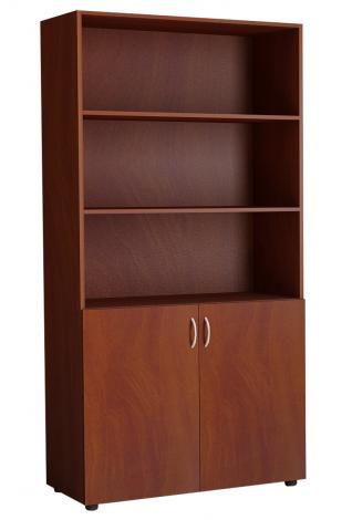 Шкаф офисный двухдверный для книг 5.06Ф - фото №3
