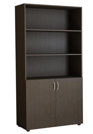 Шкаф офисный двухдверный для книг 5.06Ф - фото №2