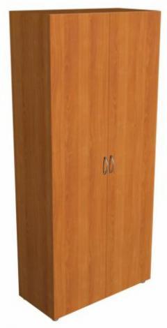 Шкаф офисный для одежды узкий с выдвижной штангой 5.10Ф - фото №1