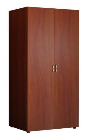 Шкаф распашной офисный для одежды с выдвижной штангой 5.12Ф - фото №3