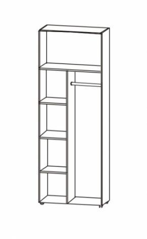 Шкаф 2-х дверный с зеркалами 5.27 - фото №2