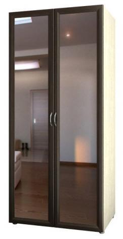 Шкаф 2-х дверный с зеркалами 5.27 - фото №1