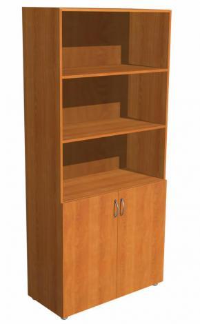 Шкаф офисный двухдверный для книг 5.06Ф - фото №1