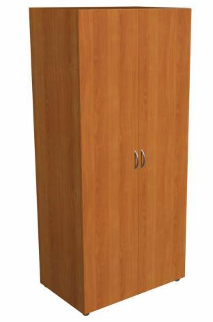 Шкаф распашной офисный для одежды с выдвижной штангой 5.12Ф - фото №1