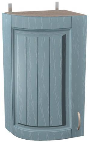 Шкаф навесной для кухни Кантри ШКН 320У радиусный - фото №1