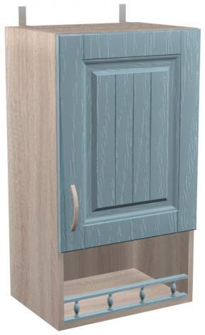 Шкаф навесной для кухни Кантри ШКН 400 П - фото №1