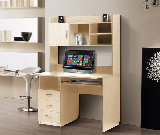 Стол компьютерный с надстройкой – 1 - фото №1