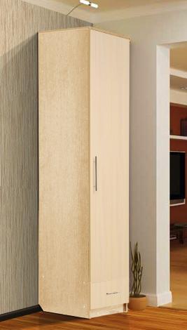 Шкаф - пенал с нижним ящиком - фото №4