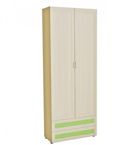 Шкаф 2-х дверный с ящиками Радуга 6.05 - фото №1