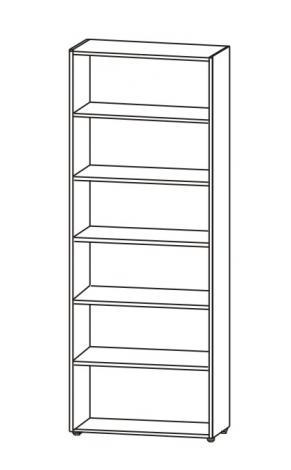 Книжный шкаф 6.09 - фото №8
