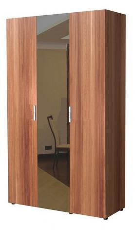 Шкаф 3-х дверный с зеркалом 6.14.26 - фото №1