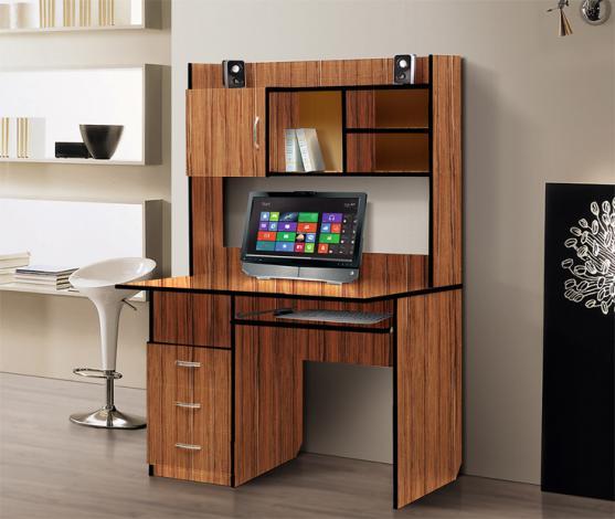 Стол компьютерный с надстройкой – 1 - фото №3