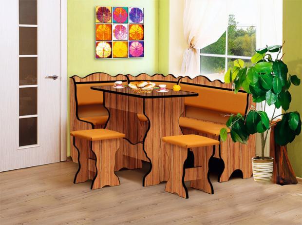 Кухонный угловой набор Уют-1 - фото №6