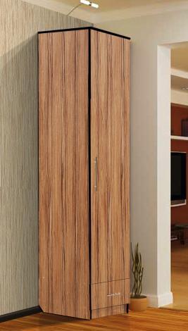 Шкаф - пенал с нижним ящиком - фото №5