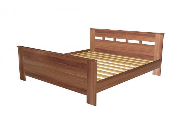 Кровать двуспальная 8.06.26 - фото №1