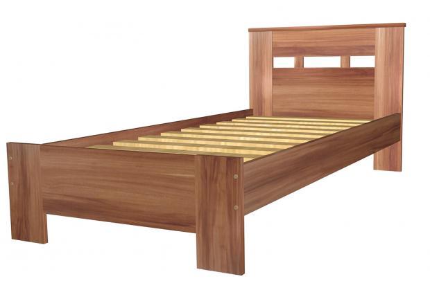 Кровать односпальная 900 с низкой ножной спинкой 8.12.26 - фото №1
