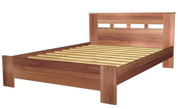Кровать полутораспальная 1400 с низкой ножной спинкой 8.14.26 - фото №1