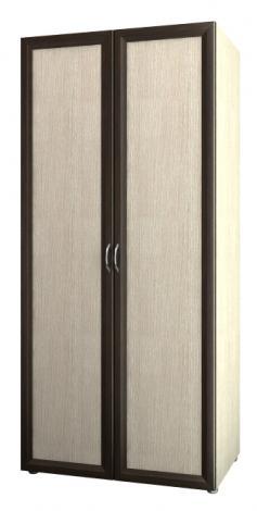 Шкаф 2-х дверный узкий со штангой 6.10 - фото №1