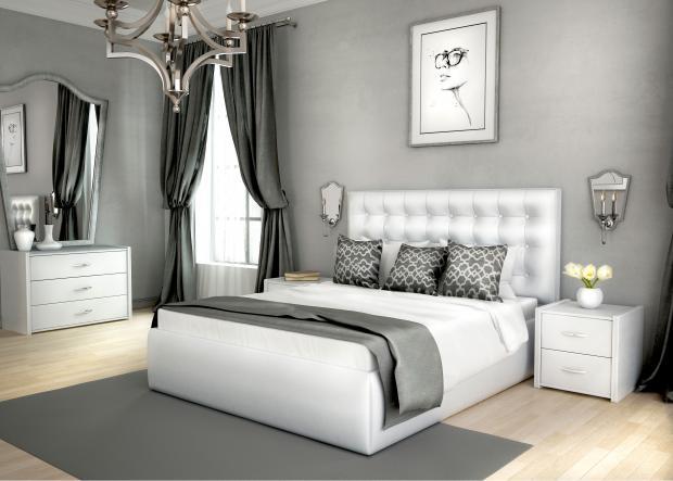 Кровать двуспальная «Аврора» - фото №1