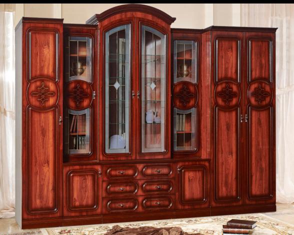 Мебельная стенка  для гостиной «Азалия-12»У - фото №1