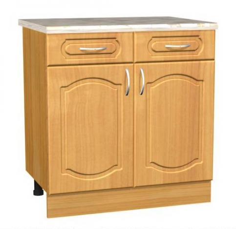 Стол кухонный двухдверный с ящиками С13 - фото №1