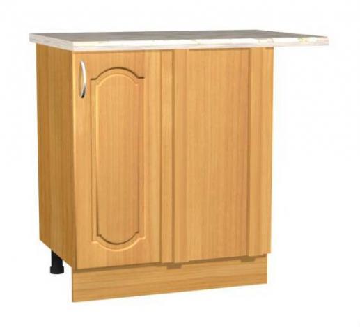 Стол кухонный угловой однодверный С 17 - фото №1