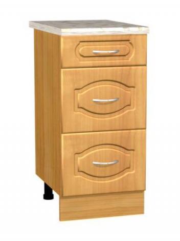 Стол кухонный с 3-мя ящиками С 4 - фото №1