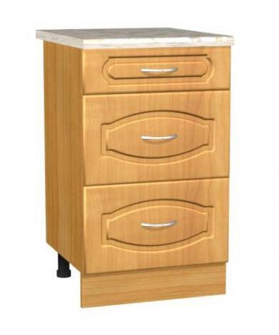 Стол кухонный с 3-мя ящиками С 5 - фото №1