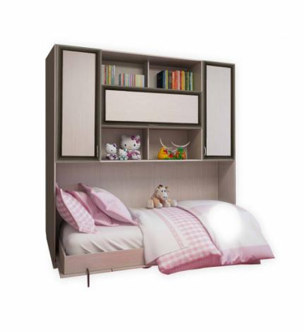 Подъемная двуспальная кровать С 520 М горизонтальная - фото №1
