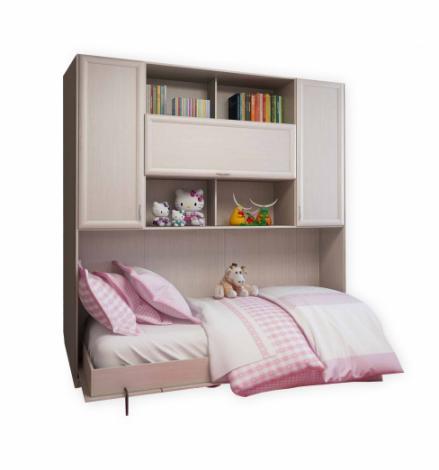 Подъемная двуспальная кровать С 520 М горизонтальная - фото №3