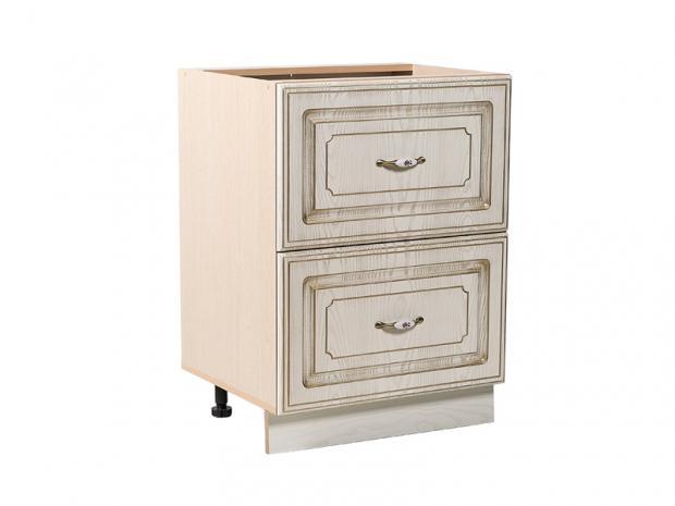 Стол кухонный с 2 ящиками Анжелика СТР 600/2 - фото №1